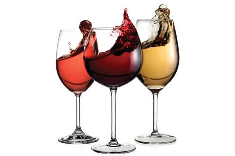 Three types of wine